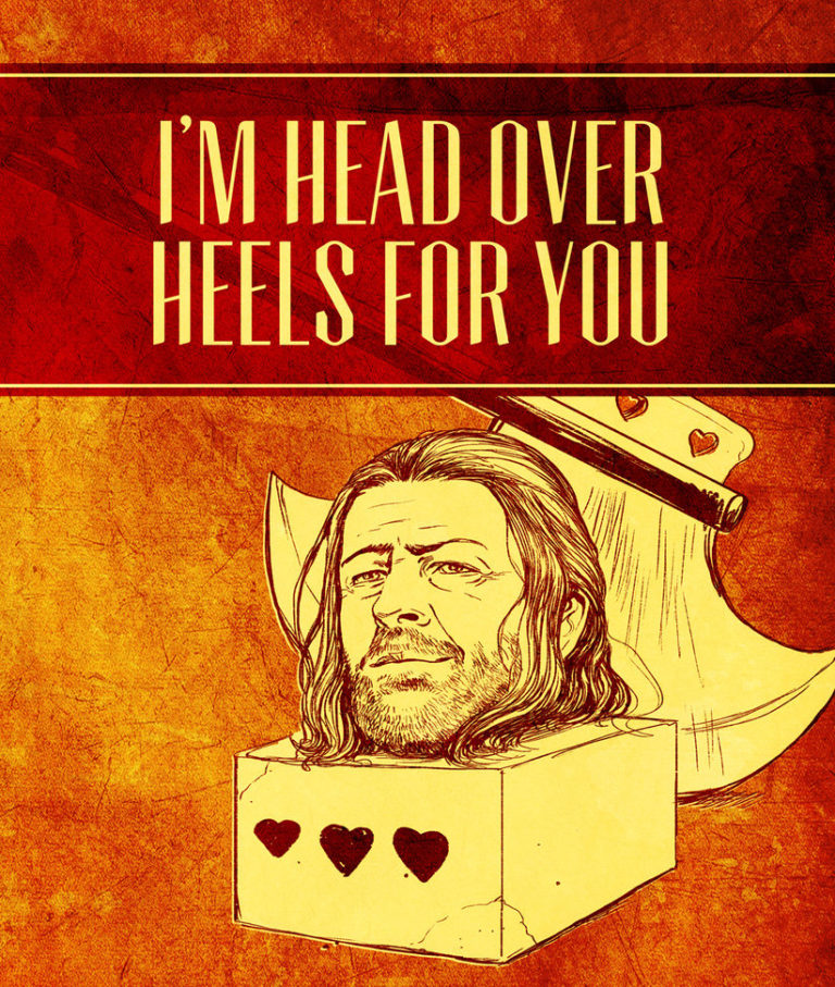 game of thrones valentine's cards words of love from westeros