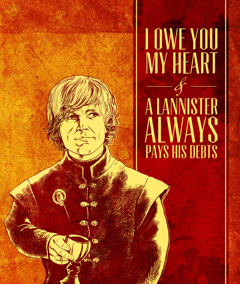 game of thrones valentine's cards, tyrion lannister