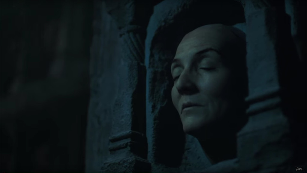 game of thrones season teaser, hall of faces, catelyn stark