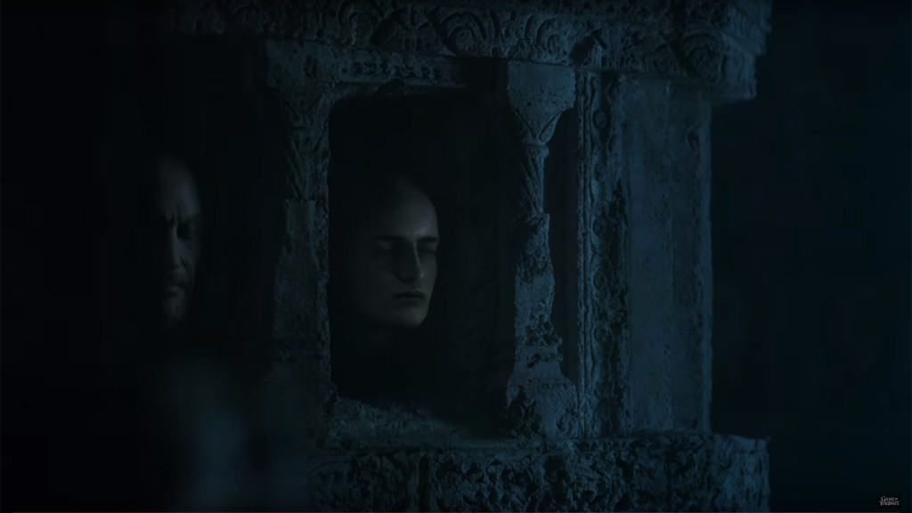 game of thrones season teaser, hall of faces, joffrey baratheon