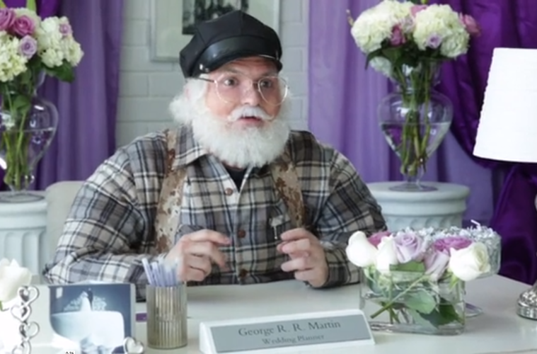 george r.r. martin, wedding planner, game of thrones