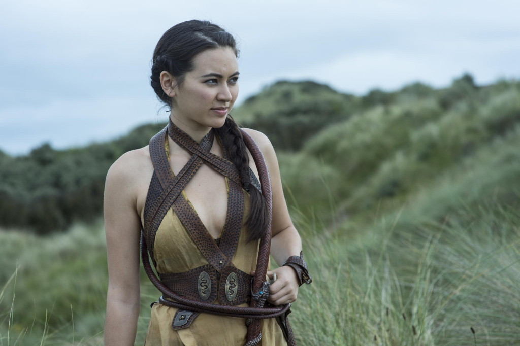game of thrones, sons of the harpy, nymeria sand