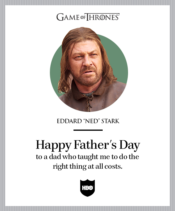 game of thrones father's day
