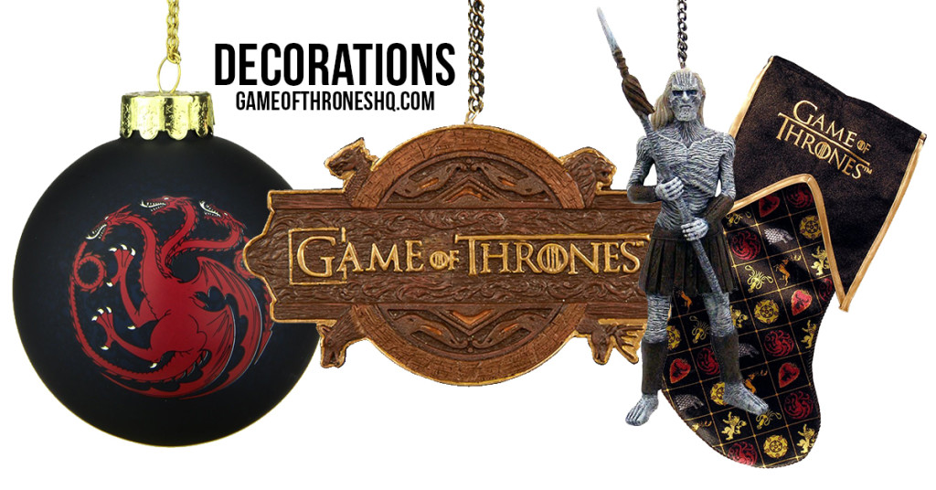 game of thrones christmas, game of thrones christmas decorations