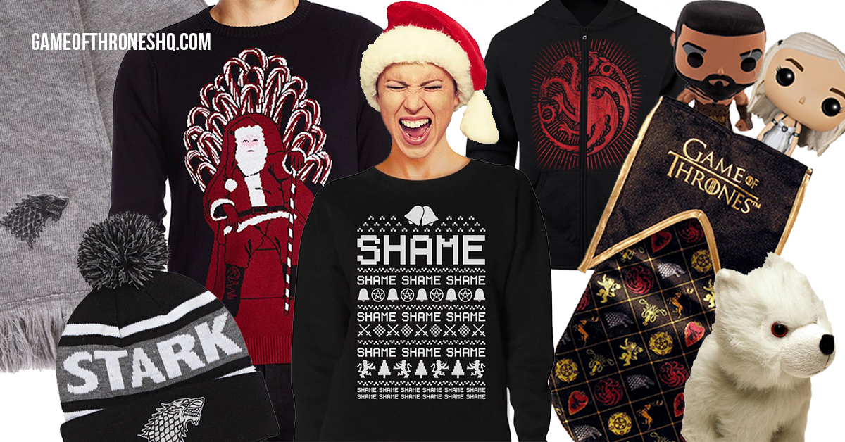 Game of thrones christmas for Game of thrones christmas gifts 2016