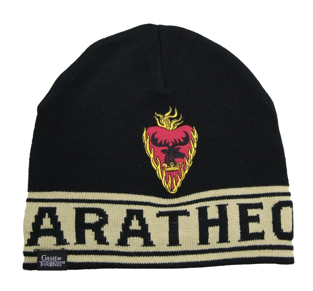 game of thrones baratheon beanie, toque.