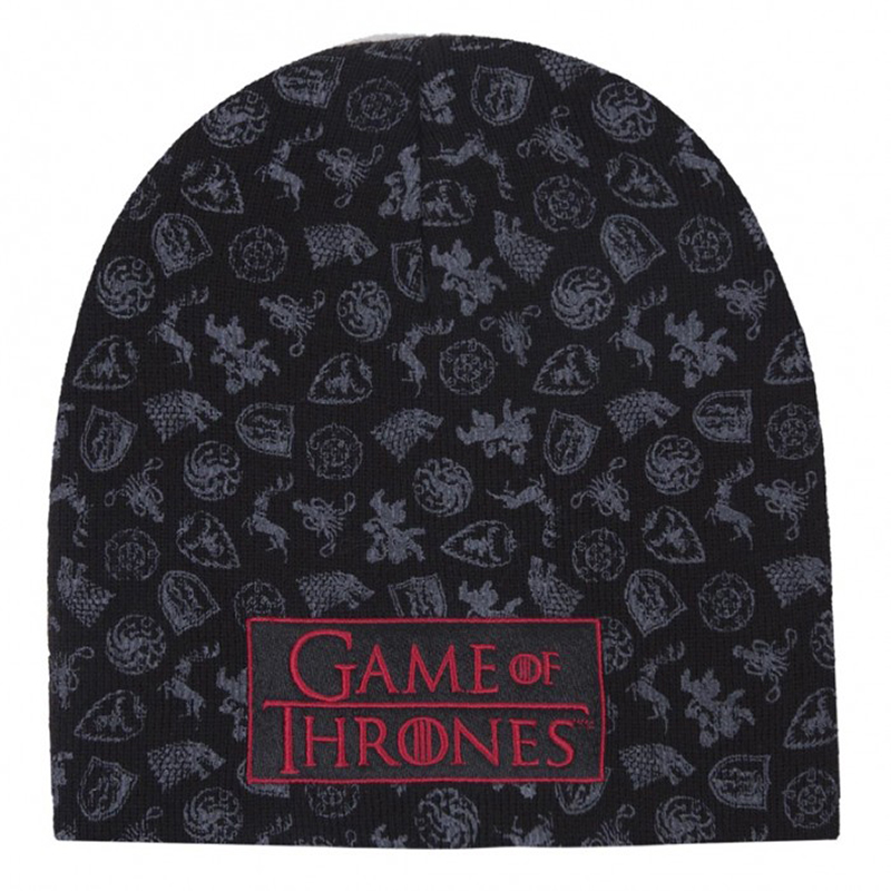 game of thrones winter apparel, game of thrones beanie, toque.