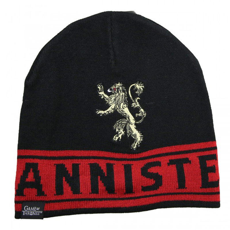 game of thrones house lannister beanie, toque.