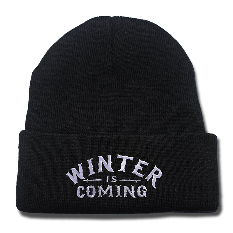 game of thrones winter apparel, winter is coming beanie, toque.