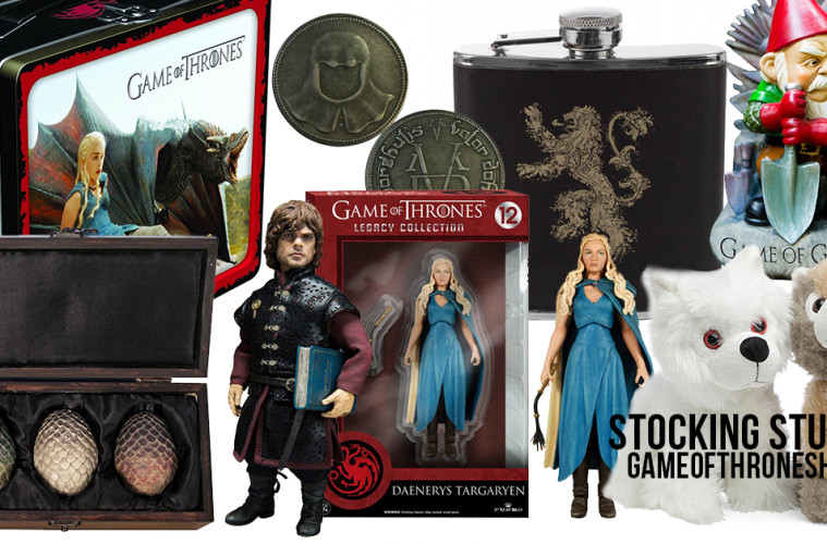 Game of thrones stocking stuffers for Game of thrones christmas gifts 2016