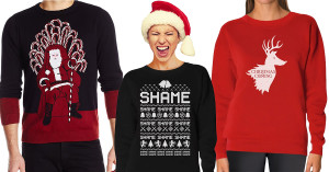 game of thrones christmas, game of thrones ugly christmas sweaters