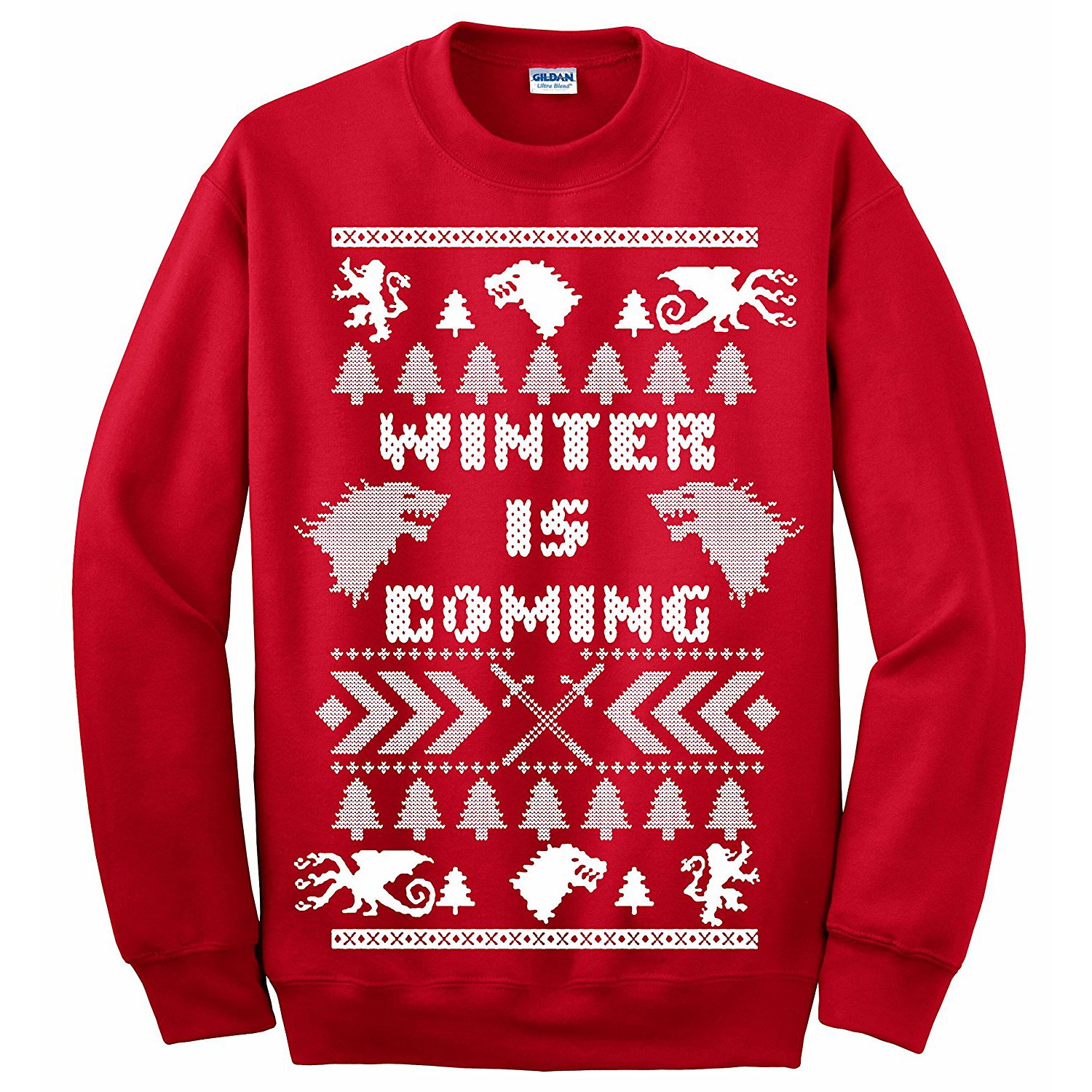 game of thrones christmas sweaters, game of thrones ugly christmas sweaters