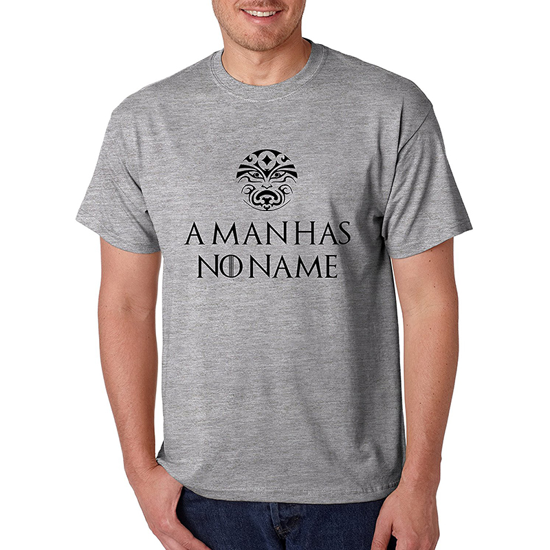 game of thrones valentine's gifts, a man has no name. men's t-shirt